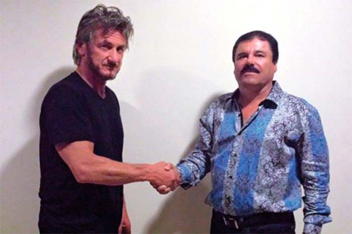 Sean Penn and Chapo Guzman